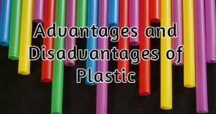 Advantages and Disadvantages of Plastic