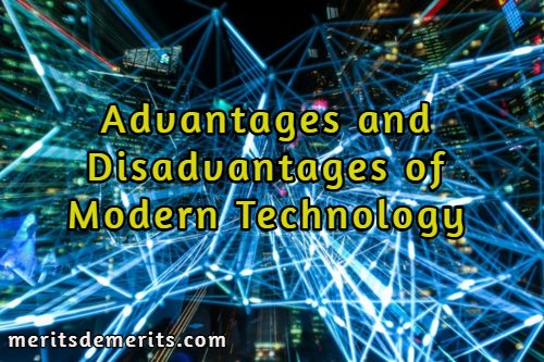 Modern technology essays