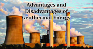 Advantages disadvantages of geothermal Energy